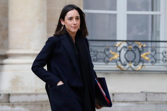 La secrétaire d'Etat auprès du ministre de la transition écologique et solidaire, Brune Poirson, le 9 janvier à Paris.