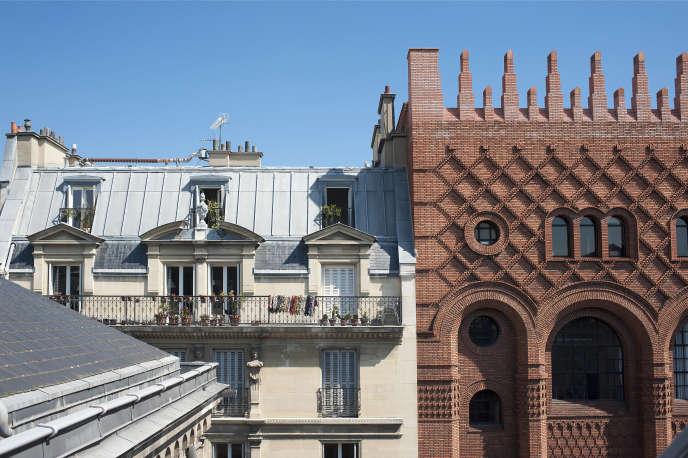 La rue d'Assas, dans le 6e arrondissement de Paris, l'une des plus chères de la capitalesurles plates-formes de location saisonnière.
