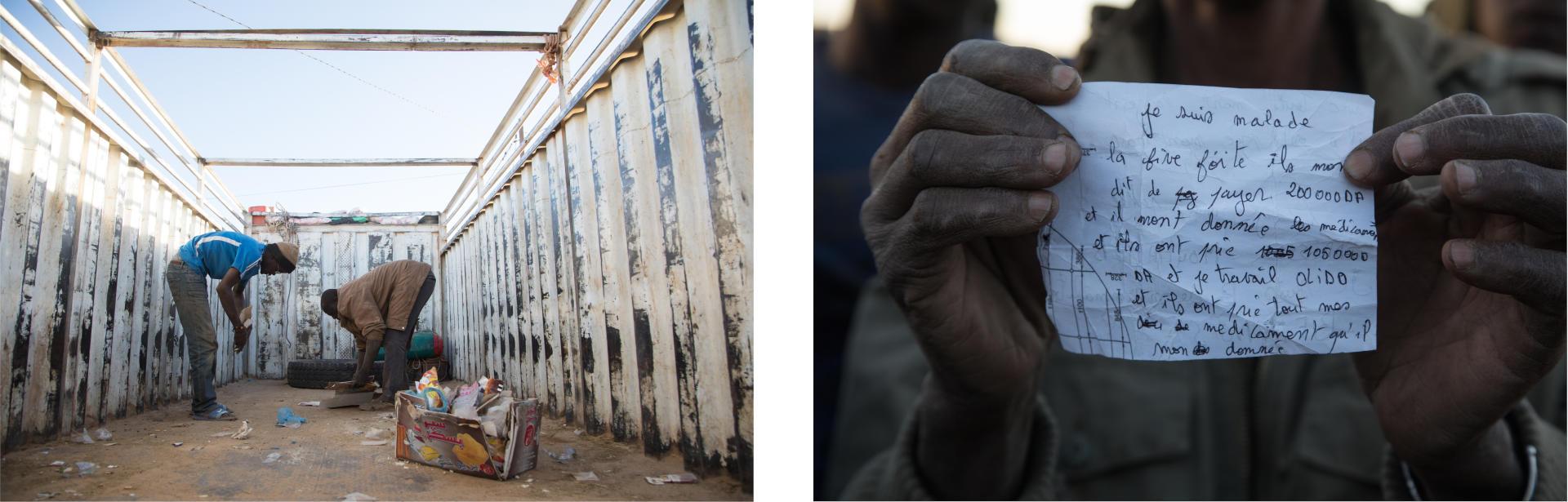 Ils viennent du Mali, du Sénégal, de la Guinée, du Bénin, du Togo et du Nigeria. Chaque semaine, à raison d'un à trois convois, des centaines de migrants sont expulsés d'Algérie. BACHIR POUR LE MONDE
