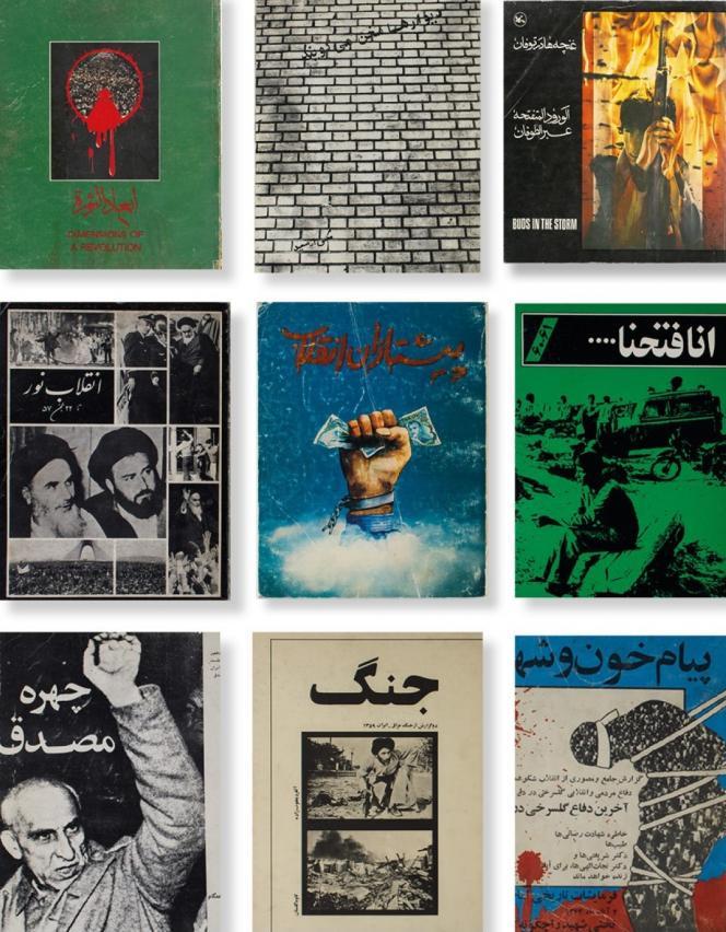 Couvertures de livres de Hannah Darabi.