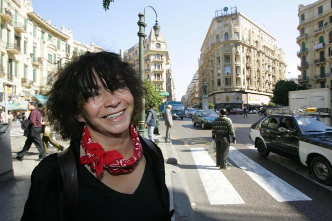 La cinéaste Jocelyne Saab, en 2006.