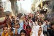 Depuis une semaine les salariés du textile au Bangladesh se mobilisent pour demander de meilleurs salaires, comme ici le 10 janvier à Dacca.