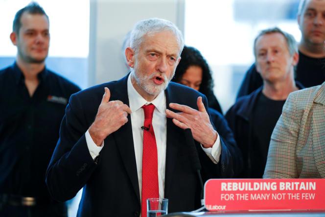 Jeremy Corbyn, le 10 janvier 2019.