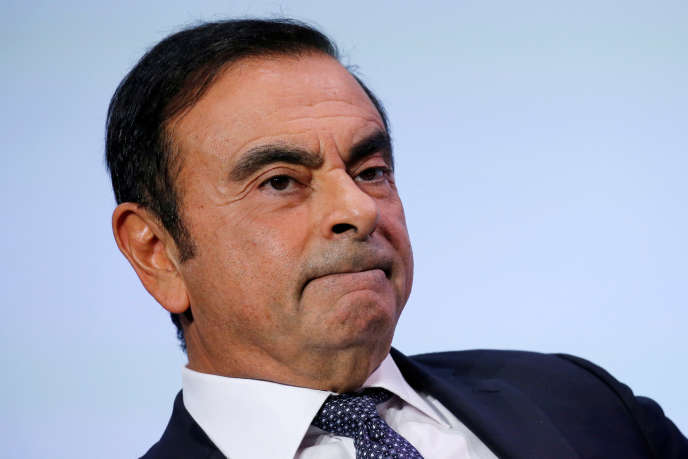 Carlos Ghosn, the first of October 2018, in Paris.