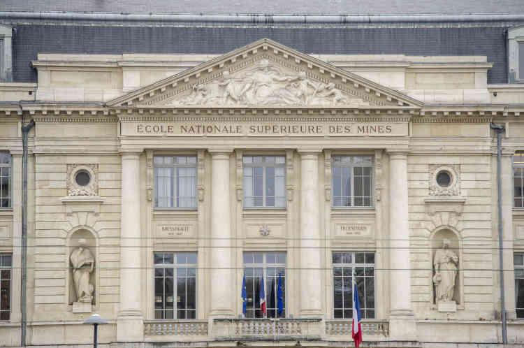 Créée en 1819, l'école des Mines est installée dans un batiment du cours Fauriel depuis 1927.