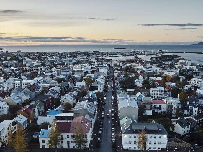 Les ouvrages d'Indridason, le maître du polar islandais, offrent tous une plongée dans le passé de Reykjavik (ici en septembre 2017).