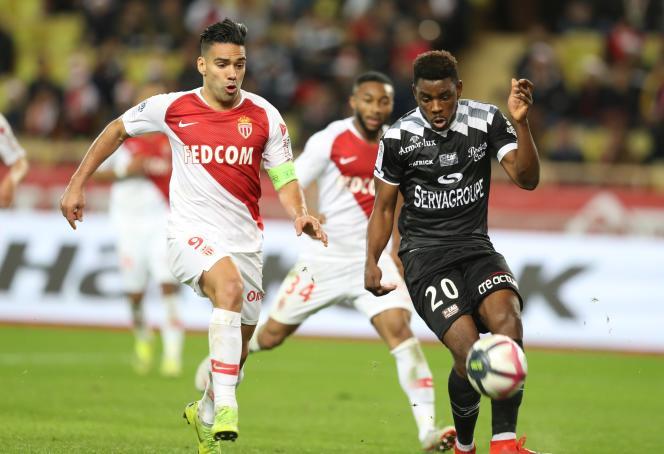 Falcao et Félix Eboa Eboa, joueurs de Monaco et de Guingamp, vont retrouver fin janvier en demi-finales de la Coupe de la Ligue.