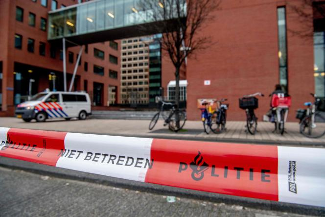 La cour de Rotterdam, le 10 janvier 2019.