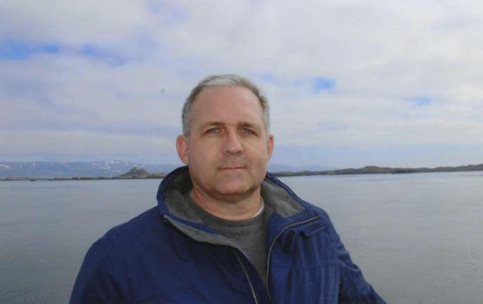 PaulWhelanen Islande (photo non datéefourniepar safamille).