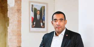 Said Ahamada, député LRM dans son bureau, à Marseille le 30 novembre 2018.