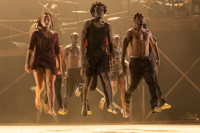 «Monstres, on ne danse pas pour rien», duchorégraphe DeLavallet Bidiefono.