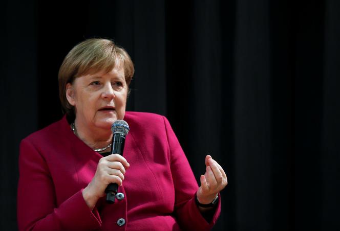 La chancelière allemande, Angela Merkel, le 11 janvier à Athènes.