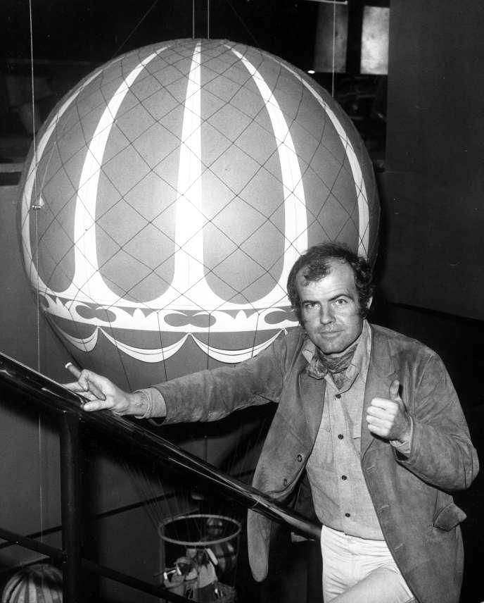 John Burningham, à Londres, en 1975.