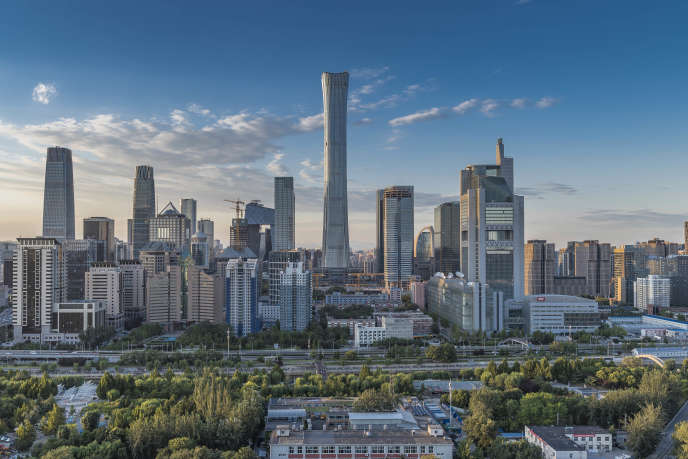 La tour China Zun à Pékin culmine à 528 mètres. C'est le plus haut bâtiment achevé dans le monde en 2018.