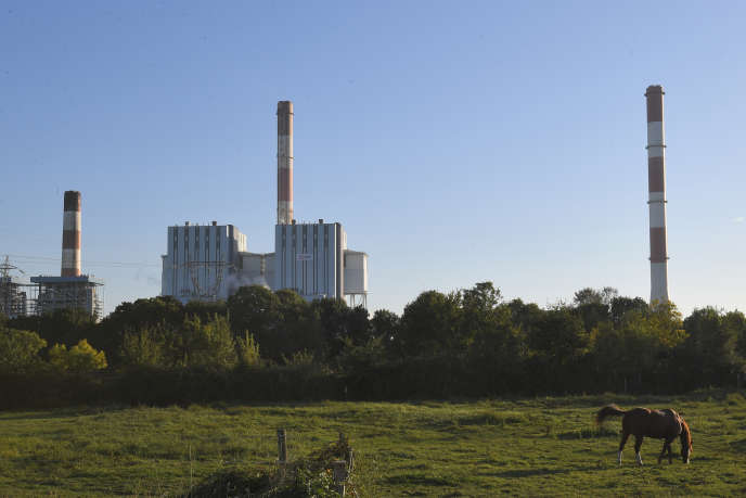 The EDF power plant in Cordemais, in Loire-Atlantique, in September 2018.