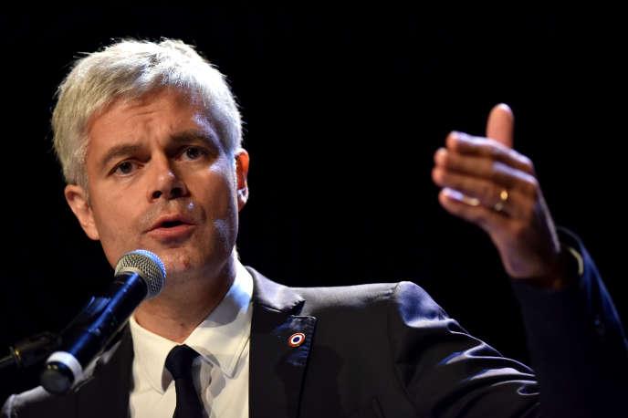 Le président du parti Les Républicains, Laurent Wauquiez, le 6 décembre 2018 à Saint-Quentin.
