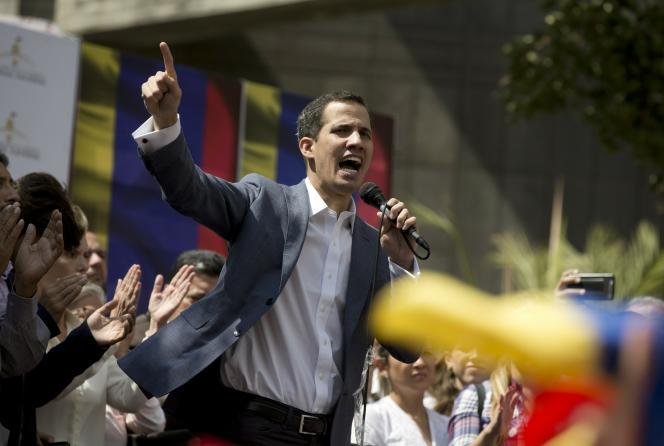 Le président du Parlement vénézuélien, Juan Guaido, à Caracas, le 11 janvier.