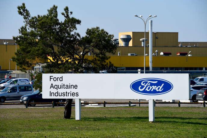 L'usine Ford de Blanquefort (Gironde), près de Bordeaux, en février 2018.