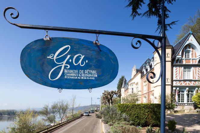 Le restaurant le Manoir de Retival à Caudebec en Caux.