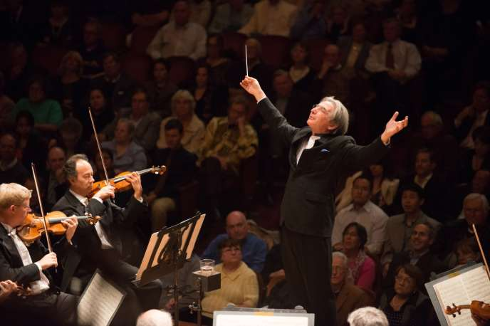 Le chef d'orchestre Michael Tilson Thomas.