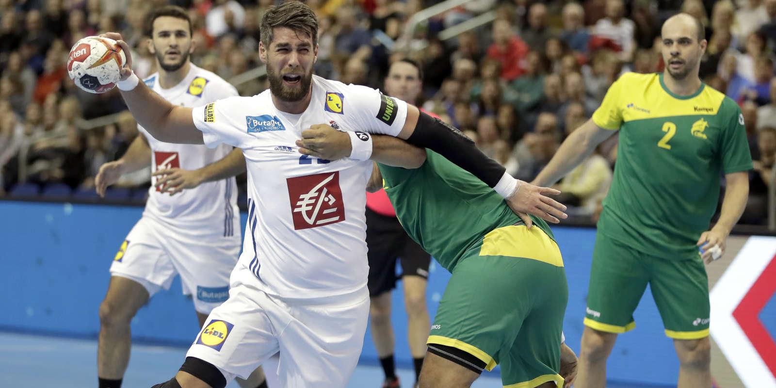 Luka Karabatic et les Français disputent leur deuxième match du Mondial.