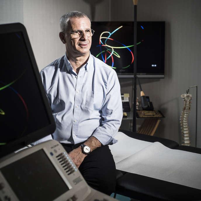 Le Dr Bloch, ici à Strasbourg le 11 janvier, a créé le premier diplôme universitaire de «médecine, méditation et neurosciences ».