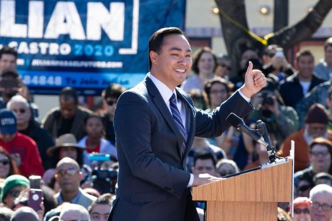 L'ancien maire de San Antonio, petit-fils d'immigrés mexicains, a annoncé sa candidature pour l'élection présidentielle de 2020.