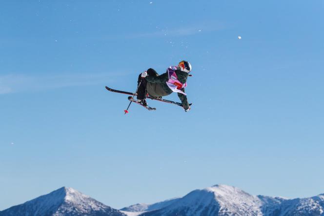 Après sa désillusion des Jeux olympiques, Tess Ledeux est remontée sur ses skis.