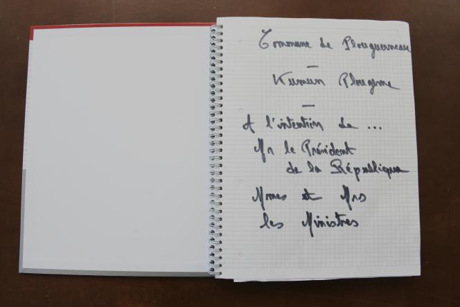 La commune de Plouguerneau (Finistère) a, elle aussi, son cahier de doléances, ici le 8 janvier.