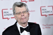 L'écrivain américain Stephen King à la réception de son PEN Award d'honneur, à New York, le 22 mai 2018.