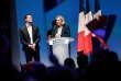 Marine Le Pen et Jordan Bardella, la tête de la liste du RN pour les élections européennes, à Paris, le 13 janvier.
