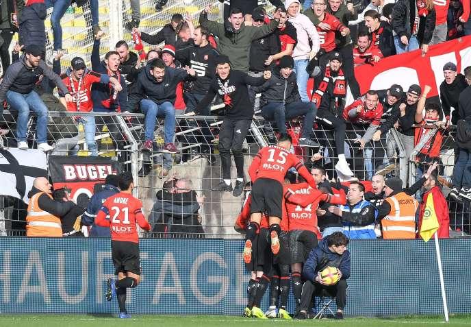 Damien Da Silva a inscrit pour Rennes le seul but du match.