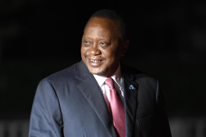 Le président kényan Uhuru Kenyatta, à Paris, le 10 novembre 2018.