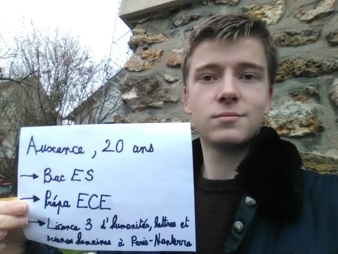 Auxence, 20 ans, étudiant de Champigny-sur-Marne - La ZEP