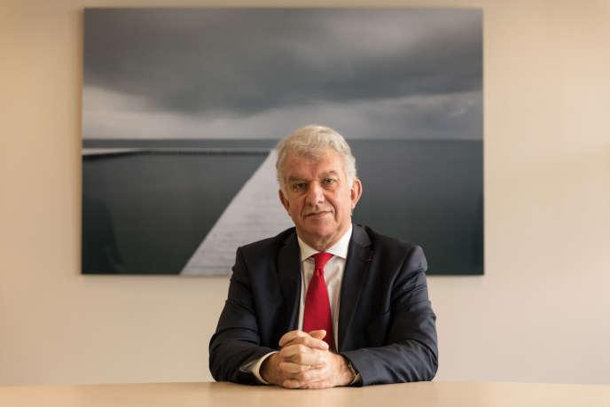 Yves Perrier, directeur général du groupe Amundi, leader europeen de la gestion d'actifs.