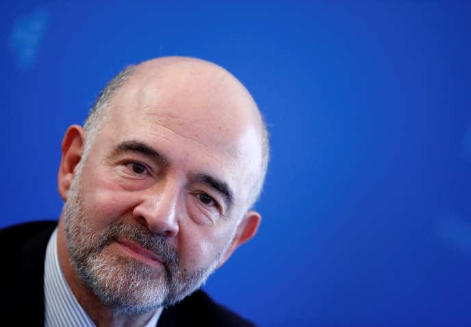 Pierre Moscovici, le 14 janvier 2019.