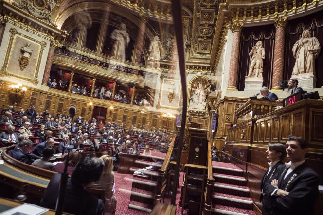Au Sénat, à Paris, en novembre 2016.
