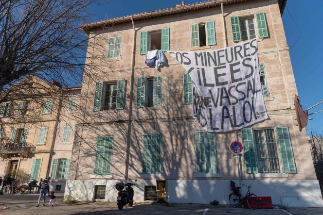 Le foyer Saint-Just à Marseille accueille 60 mineurs isolés.