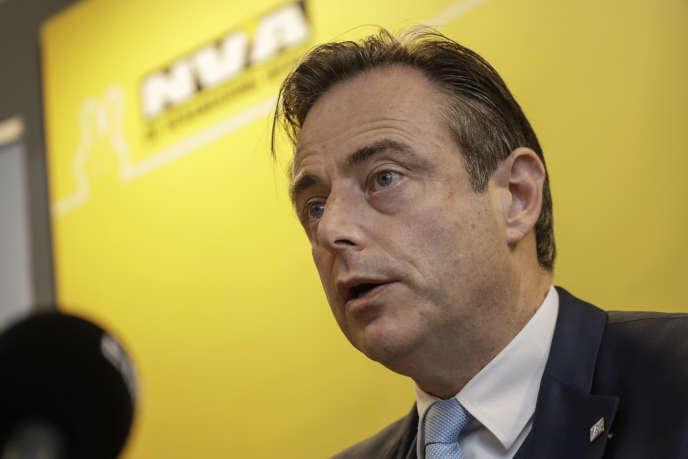 Le chef de file du parti nationaliste Alliance néoflamande (N-VA), Bart De Wever, le 8 décembre 2018.