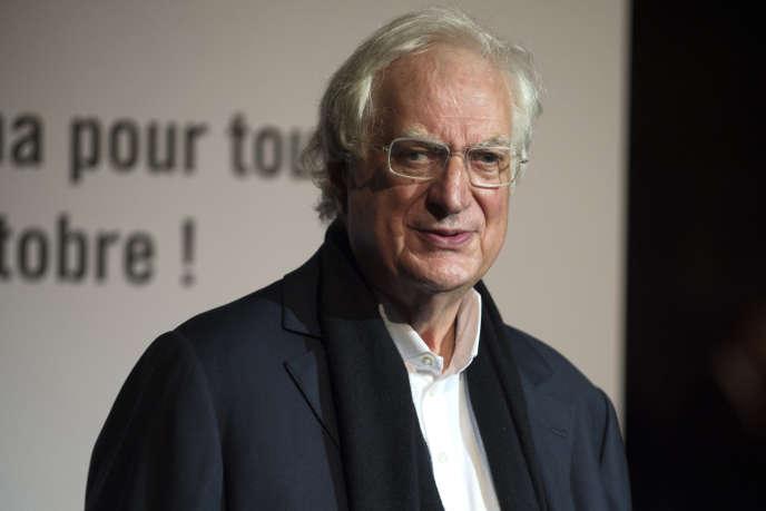 Le cinéaste Bertrand Tavernier au Festival Lumière à Lyon en octobre 2017.