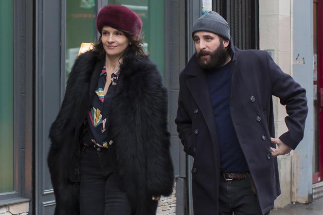 Juliette Binoche et Vincent Macaigne dans« Doubles vies», d'Olivier Assayas.