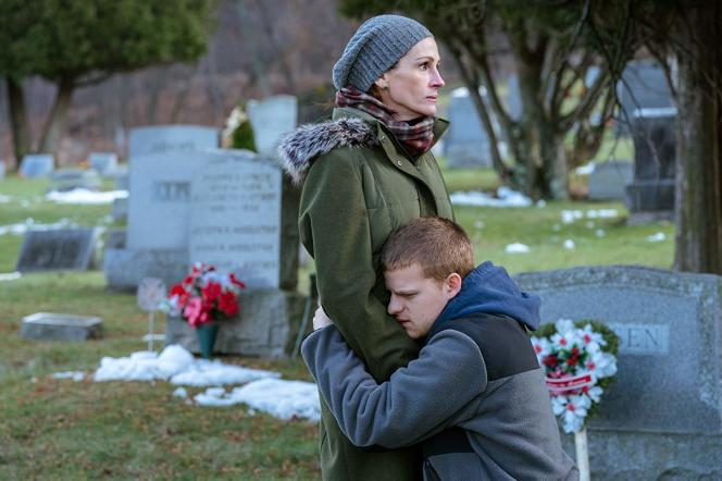 Julia Roberts et Lucas Hedges dans« Ben Is Back», dePeter Hedges.