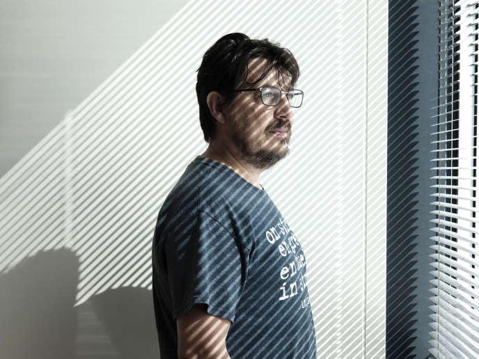 L'écrivain et documentariste David Dufresne, auteur de l'enquête «Maintien de l'ordre» (Fayard, 2013).