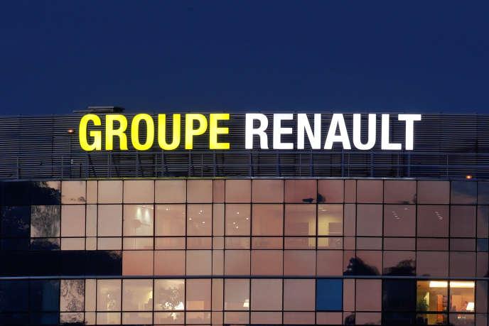 Le siège de Renault, à Boulogne-Billancourt (Hauts-de-Seine).