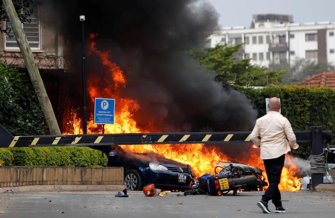 L'attaque de Chabab contre le complexe hôtelier Dusit, à Nairobi, le 15 janvier 2019, causa la mort de 21 personnes.