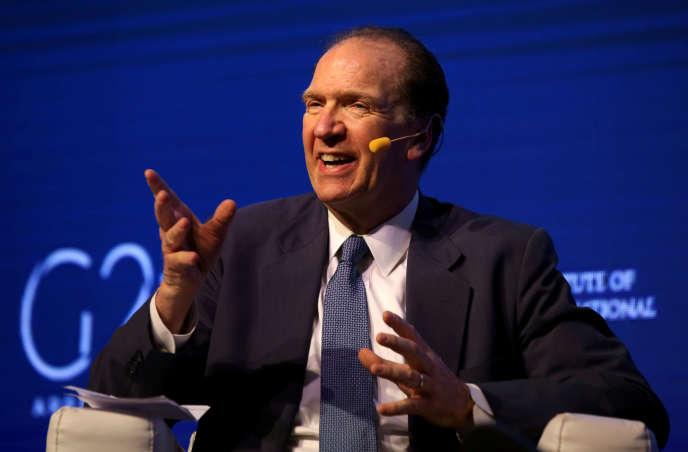 Le sous-secrétaire pour les affaires internationales du département américain du Trésor, David Malpass, est préssenti pour prendre la tête de la Banque mondiale.