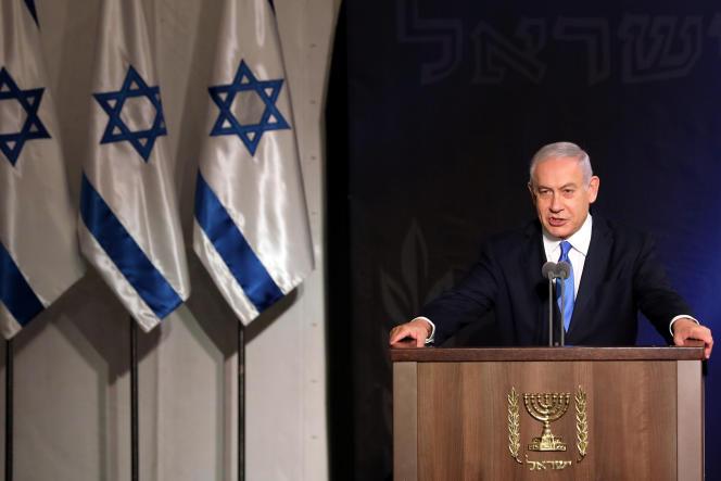 Benyamin Nétanyahou, à Tel Aviv, le 15 janvier.