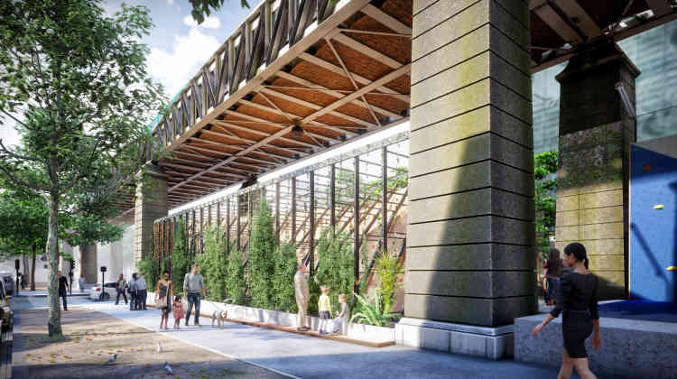 Station Blocpark -Architectes : Baehr & Landau Architectes - Autres : Greenation, Love Your Waste.