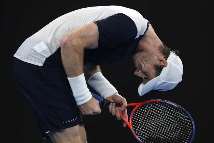 Andy Murray was knocked out at the Australian Open in Melbourne on January 14th.