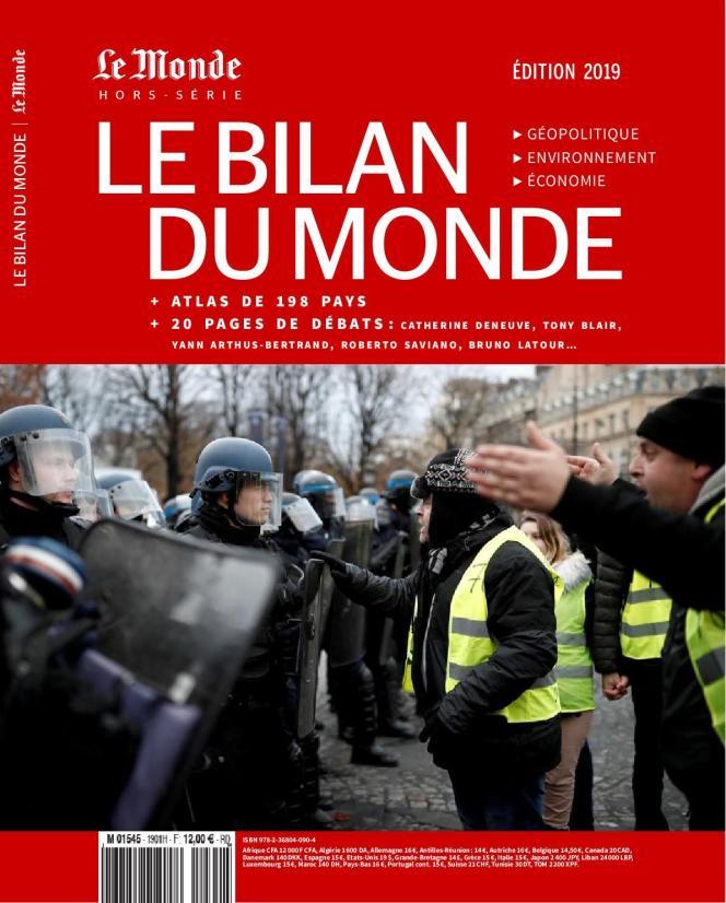 «Le Bilan du monde 2019. Géopolitique, environnement, économie», 218 pages, 12 euros. Vendu en kiosque et sur le site Boutique.lemonde.fr